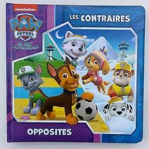 *2 for $20* Paw Patrol Hardcover French Book